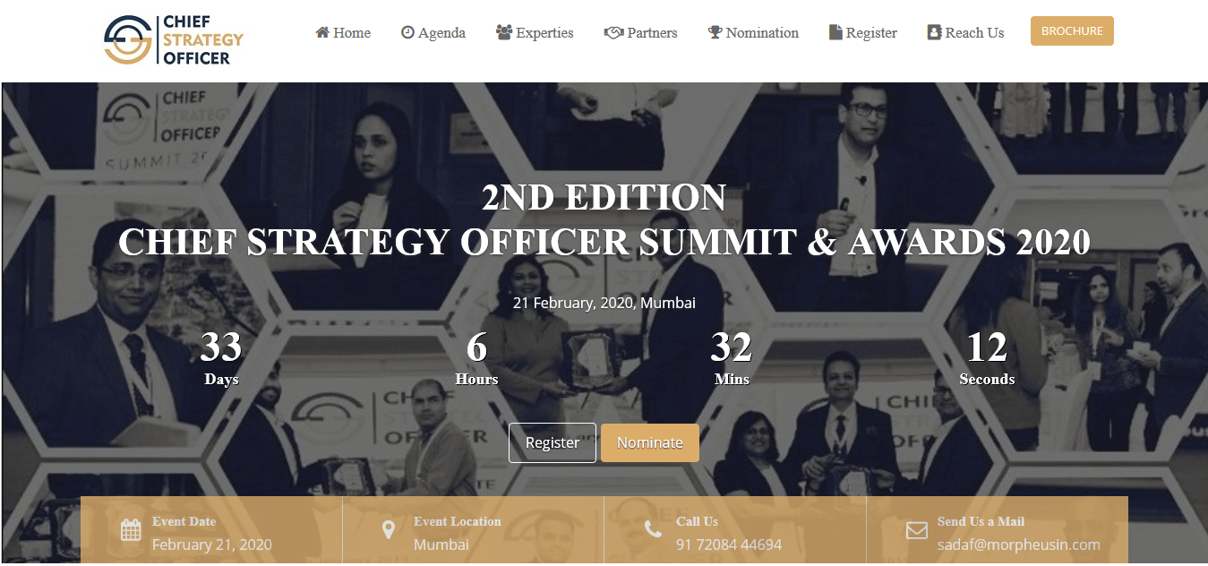 2 Chief Strategy Officer Summit Awards 2020