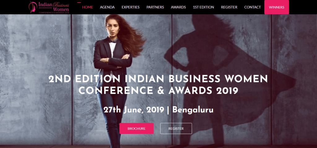 2 Indian Business Women Conference Awards 2019