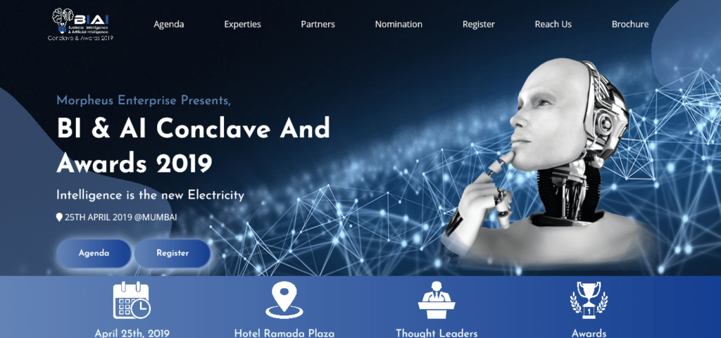 BI AI Conclave And Awards 2019