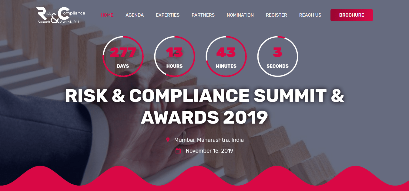 Risk Summit Compliance Awards 2019